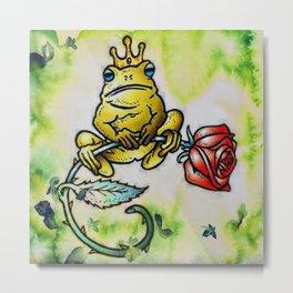 Prince Charming Frog, The Frog Prince Metal Print
