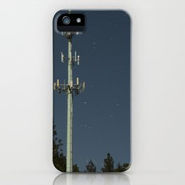 Transmissions in the dead of the night iPhone Case