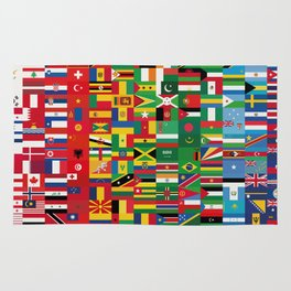 New World Order (By Color) Rug