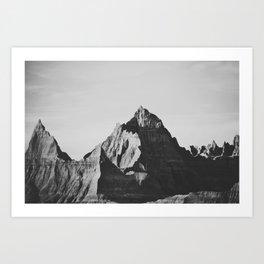 Bad Peaks Art Print