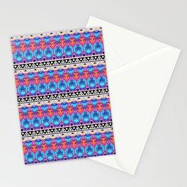 Glitch Stripe 4 Stationery Cards