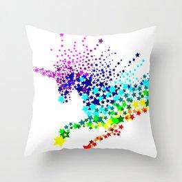 Unicorn - Licorne - Unicornio - Einhorn 02 Throw Pillow
