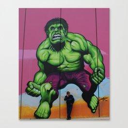 """Hulk"" Canvas Print"