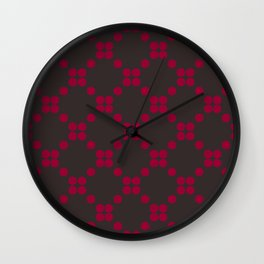 DOTS TTY N13 Wall Clock