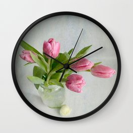 Gifts from the garden Wall Clock