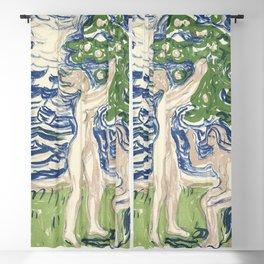 Girls Picking Apples (1915) by Edvard Munch. Blackout Curtain