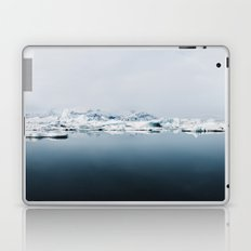 Ethereal Glacier Lagoon in Iceland - Landscape Photography Laptop & iPad Skin