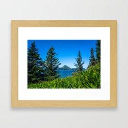 Framed Mountain Framed Art Print