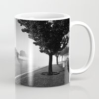 hot fuzz Mugs featuring The Fuzz by Adam Pulicicchio Photography