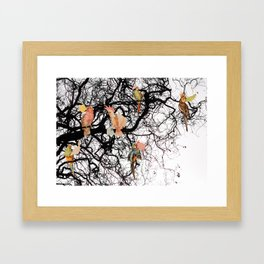 THE MESSENGERS Framed Art Print