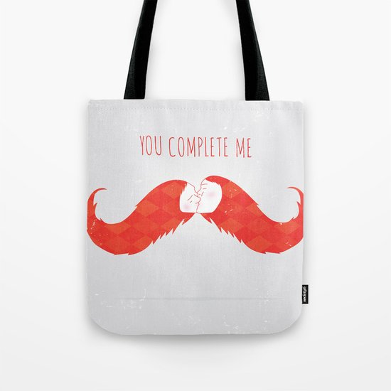 You Complete Me Tote Bag