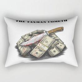 The Taxman cometh Rectangular Pillow