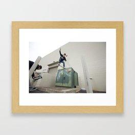 Kevin Offerman. Crooked Grind  Framed Art Print