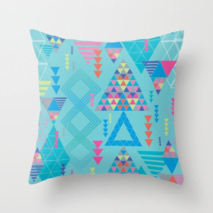 GeoTribal Pattern #010 Throw Pillow
