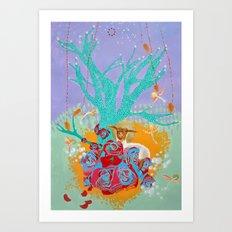 The Lamb of God Art Print