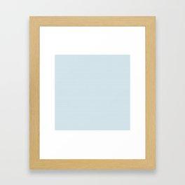 U12: postal blue Framed Art Print