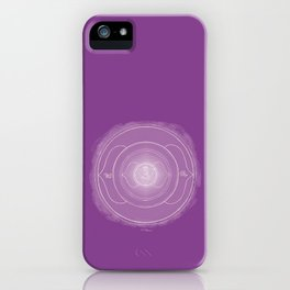AJNA Boho mandala iPhone Case