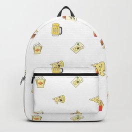 Food Pattern Dbby Backpack