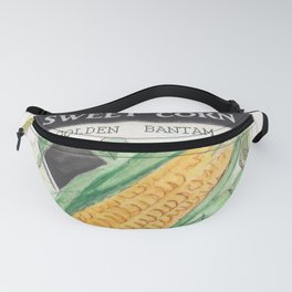 Sweet Corn Seed Packet Fanny Pack