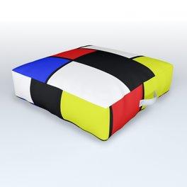 Mondrian #20 Outdoor Floor Cushion
