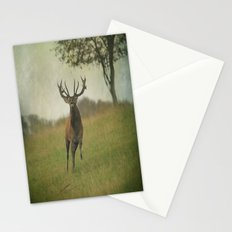 Charging Stag Stationery Cards