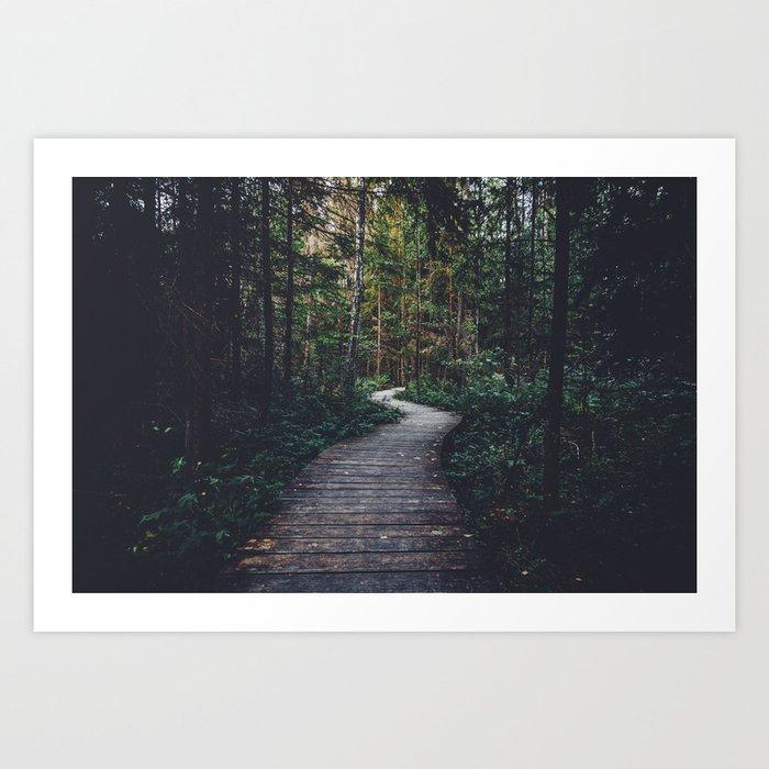 Path Unknown Art Print