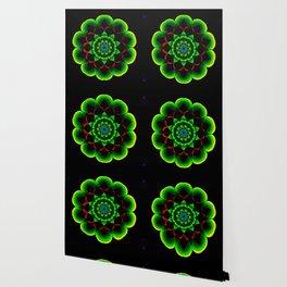 Neon lotus Wallpaper