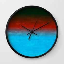 Number 4 Wall Clock