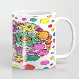 Circle of Circular Stuff Doodle Coffee Mug