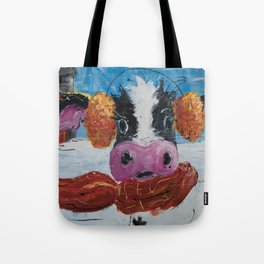 Wis-cow-sin Winter Tote Bag