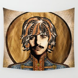 Boho Beatle ( Ringo ) Wall Tapestry