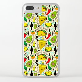 Kawaii Fiesta Clear iPhone Case