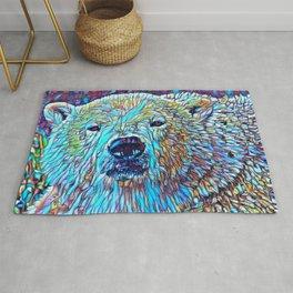 ColorMix Polar Bear Rug