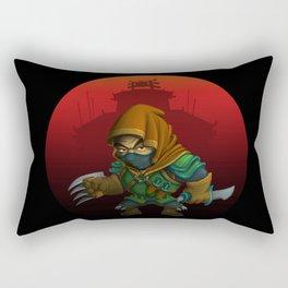 Little Assasin Rectangular Pillow