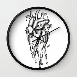 Dying inside Wall Clock