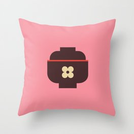 Japan Rice Bowl Throw Pillow