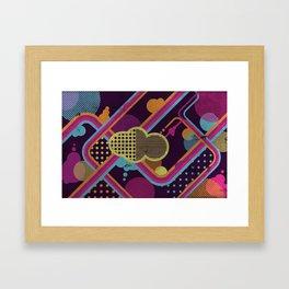Funky Cloud Framed Art Print