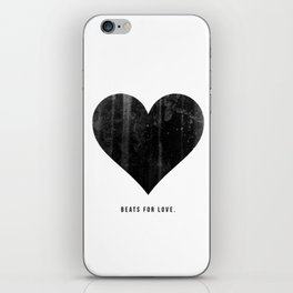 Beats for Love. iPhone Skin