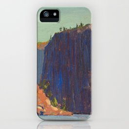 Tom Thomson Petawawa Gorges Canadian Landscape Artist iPhone Case