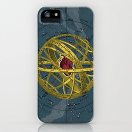 Heartcentrical sistem iPhone Case