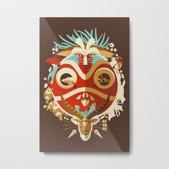The Days of Gods and Demons Metal Print