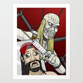 Dr. Satan Art Print