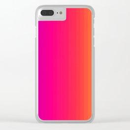 Colors Diversity Clear iPhone Case