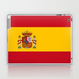 Flag of spain-spain,flag,flag of spain,espana,spanish,espanol,Castellano,Madrid,Barcelona, Laptop & iPad Skin