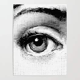 Lina Cavalieri Eye 01 Poster