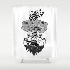 Hypnoisland Shower Curtain