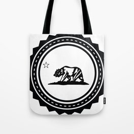 CALI WHITE Tote Bag