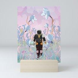 Collecting Samples Mini Art Print