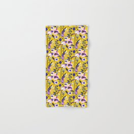 Yellow spring flowers Hand & Bath Towel