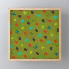 Beetles & Bugs Framed Mini Art Print
